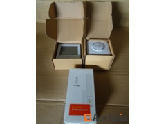 1 Doorbell cordless, 1 thermostat of environment BHT-1000, 1 detector for window Innogy