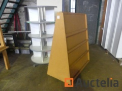 12 used doors, display, turnstile