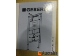 2 Hanging toilets Geberit Sigma 12 cm, toilet-board