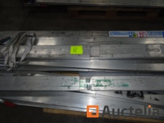 2 pallets with tie-down bars for truck