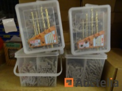 2120 plastic anchors 5, 6, 8, 10 with 16 drill bits