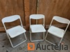 3 Folding Home Chairs