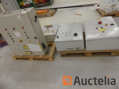 4 Electric cabinets