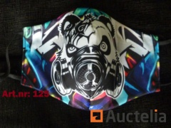 4 x Design Streetwear mouth masks incl. Delivery
