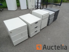 5 Small dimensions Drawer office table Cabinets various