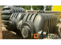 5000 L PVC tank or septic tank