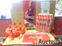 Advertising poster PVC, 48 bottles Coca-Cola Solid 20 cl,...