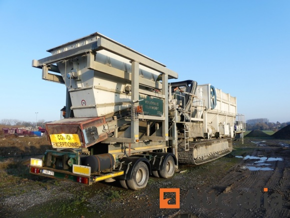 Auction of waste processing equipment