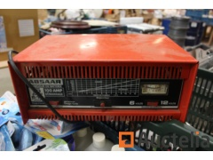 Battery charger, decoder, hand tools