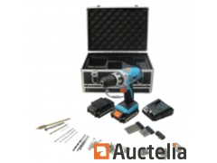 Box rechargeable drill 14.4V. Lithium