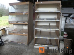 Cabinets for pastries and bread