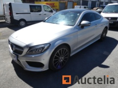 Car Mercedes Benz C250D (2016-88587 km)