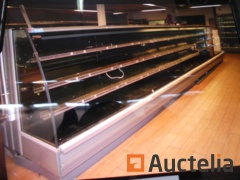 CARRIER MIRADO 64,375 B4 Refrigerated display counter with remote cold group
