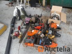 Chainsaws, Hedge sizes, blowers