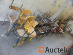 Chairs Children mismatched (+/-60 parts)