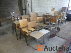 Chairs mismatched (+/-40)
