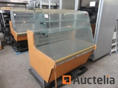 Chilled Glass display Countertop Refrigerated Group integrated COF IBIZA