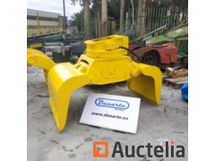 Claw to move stone Verachtert. VRG-25-2-R. For excavator from 18tn to 30tn. - REF1635