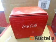 Coca-Cola Cooler with handle