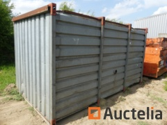 Construction Container galvanizes with its content