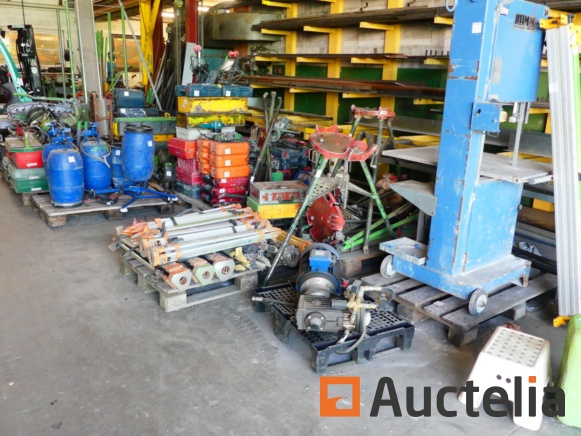 Construction tools and office furniture