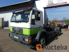 Container truck Man 18,224 LC (2006-417494 km)
