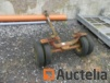 Dolly for towing car