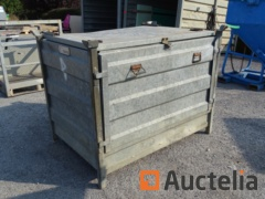 EDB Galvanized Metal Storage cabinet