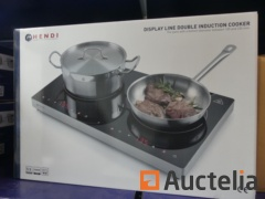 Hendi 239285 Double induction cooker