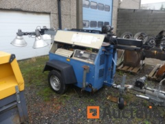 Ingersoll Rand LT6K Light tower with 4 spotlights -Matis: 294