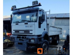 IVECO. 4x4 work truck with tipping box. - REF3229