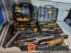 Large lot of all kinds of tools including portable cases