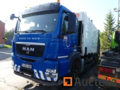 (Matis: 7354)-Garbage truck MAN TGA HS264FNLC (2008-386,202 km) to be reconditioned