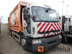 (Matis : 87) - Garbage truck Renault 320DCI (2006) to be reconditioned or for parts