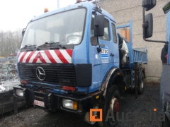 Mercedes 1922 AK-7.5Rear dump truck and with crane Gormach 13500 E3 (1986-614937 km)-Matis: 19