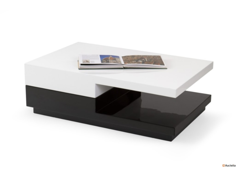 Modern Coffee Table With Turntable