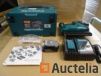 Nailer cordless 18 V Li-Ion 5 Ah in its MAKITA systainer DBN500RTJ