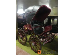 New horse carriage Convertible HANSMEIER DOCTOR WAGEN