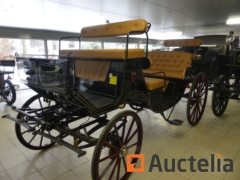 New horse carriage with drawbar HANSMEIER