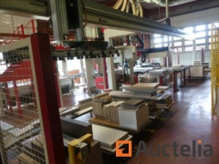 Production line for box furniture MAW DSB 4/9