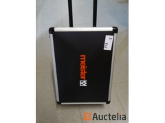 Professional hand tools Case Meister 156 parts on wheels