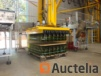 Promalyon brand 4-station automatic palletizer. Year 1998.