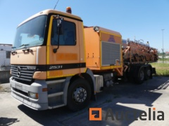 (Ref. 060) - Truck with Mercedes-Benz 2631 L / 6X2 / 7.5 water tank