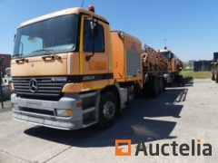 (Ref. 061) - Truck with Mercedes-Benz 2631 L / 6X2 / 7.5 water tank