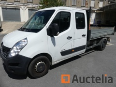 RENAULT MASTER 7 seater double cabin truck with dump (2016-82935 km)