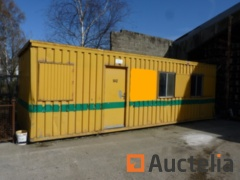 Sanitary cabin Ropa with kitchen