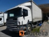 Scania baché Truck with tailgate Dhollandia