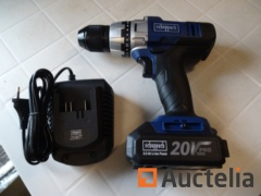 Screw driver cordless 20v SCHEPPACH CDD 45-20ProS with charger and battery