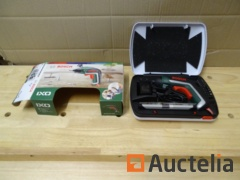 Screw driver-cordless Bosch IXO 3.6 V with 10 tips