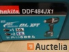 Screw driver on battery in its MAKITA systainer DDF484JX1